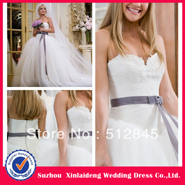 YW 12061411 Kate Hudson in Bride Wars! Tulle skirt Wedding Dress-in ...