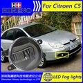 Super White LED Daytime Running Lights For 2004-2006 Citroen C5 Drl Light Bar Parking Car Fog Lights 12V DC Head Lamp