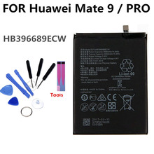 HB396689ECW battery For Huawei MATE9 PRO MATE 9 PRO li-ion polymer Replacement Phone Battery 4000mAh jjrc 1000 07 replacement 250ma li ion polymer battery for r c quadcopter v262 f180 more silver