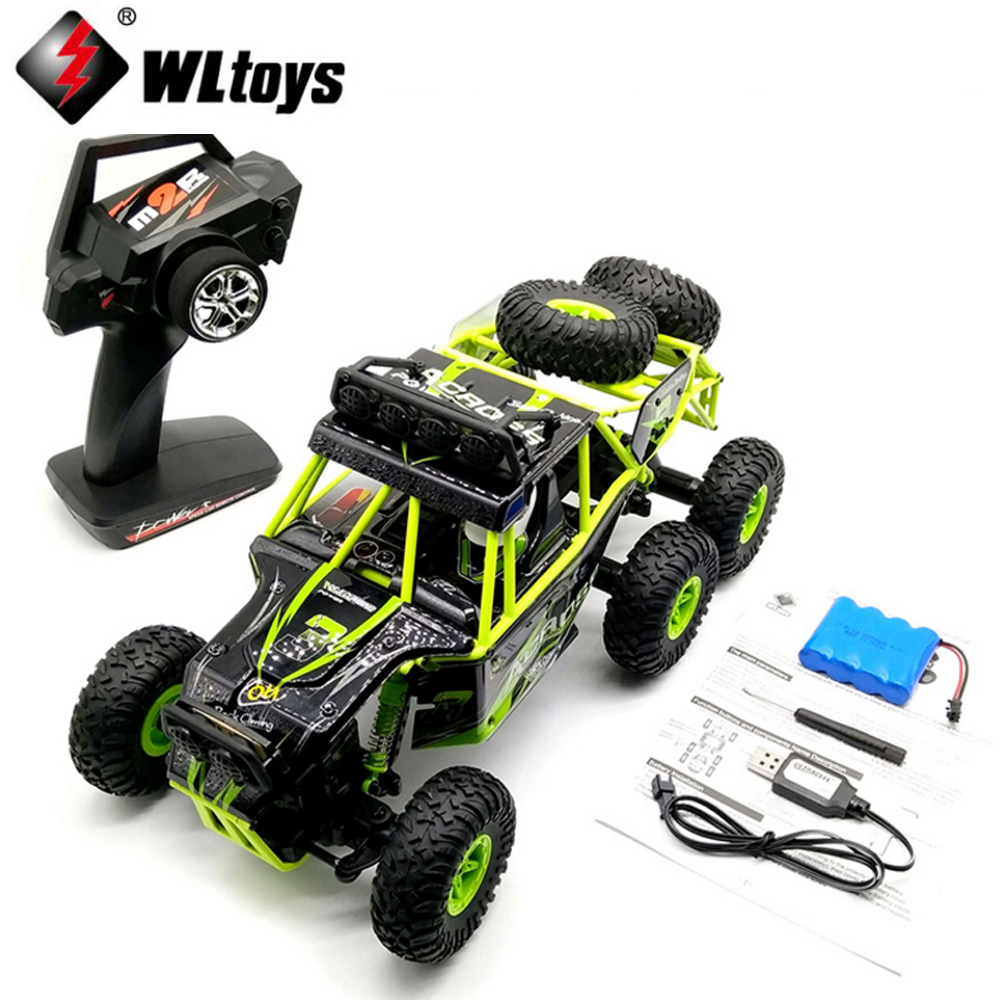 1pcs Wltoys 18628 1/18 2.4G 6WD Electric rcToys rc Car Model Off-Road Rock Crawler Climbing RC Buggy Car RTR Outdoor hongnor ofna x3e rtr 1 8 scale rc dune buggy cars electric off road w tenshock motor free shipping