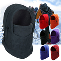 Outdoor Sports Fleece Face Mask Ski Snowboard Hood Windproof Neck Warm Motorcycle Cycling Cap Hat Bicykle Thermal Scarf S491