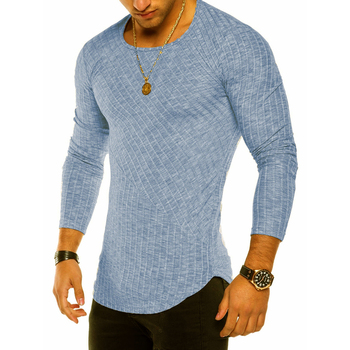 Casual Round Neck Long Sleeve T Shirt 1