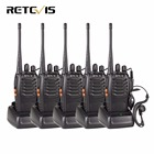 5pcs Walkie Talkie Retevis H777 UHF 400-470MHz Frequency Portable Radio Set Ham Radio Hf Transceiver CTCSS/DCS Handy