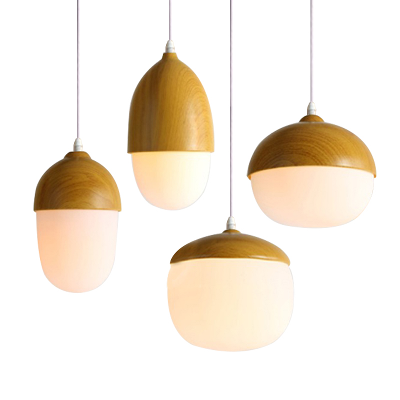 modern pendant light glass lamp metal lampshade luminaire nordic e27 base hanglamp home. Black Bedroom Furniture Sets. Home Design Ideas