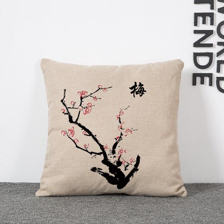 2016   Plant Seat Cushion   Decorative Home Decor Sofa Chair Throw Pillows Decorate Pillow Cushions 45*45cm Cojines