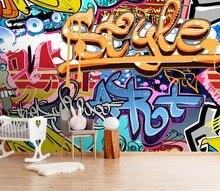 [Self-Adhesive] 3D Cartoon Alphabet Painted Pattern 7 Wall Paper mural Print Decal Murals