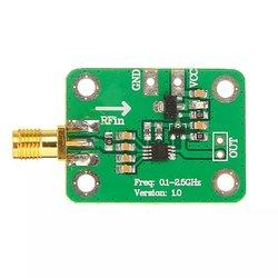1 sztuk 0.1 - 2.5Ghz Rf miernik mocy logarytmiczny detektor wykrywania mocy Dh