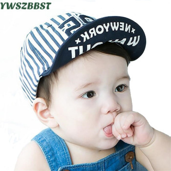 цена на Fashion Boys Baseball Hat Summer Baby Baseball Caps Baby Hats for Boys Sun Hat Baby Caps for Girls Kids Cotton Cap