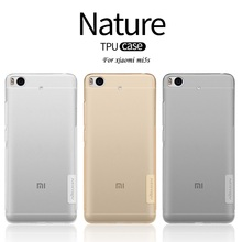 Nillkin Transparent Clear Soft silicon TPU Protector cover for xiaomi mi mi5s case for xaiomi 5s cover phone bags 5.15 inch