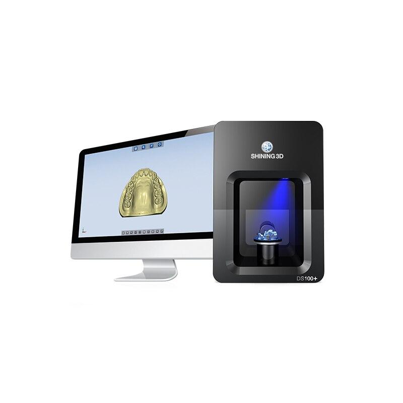 AutoScan-DS100 Dental 3D Scanner Blu-ray scannen technologie, anti-störungen, überlegene scannen daten qualität, hohe geschwindigkeit