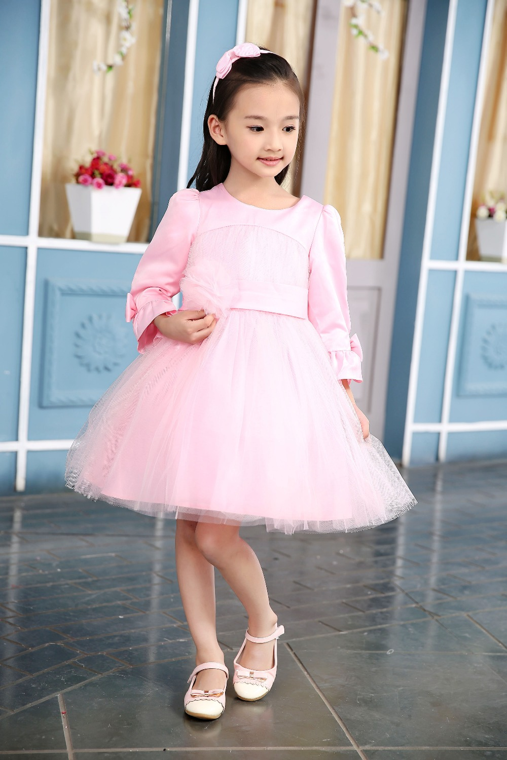 2017 kids dresses for weddings prom dresses baby girl party dress ...