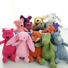 1pc Plush Toy Dog Toys Bite Resistant Cleaning Teeth Chew Puppy Cartoon 16 Styles Animal Pet For Dogs