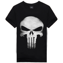 3D T Shirt Men Plus Size Cotton Tops Tee Skull Printed Short Sleeve fitness Cotton T-shirt Men Hip Hop Camisetas Brand Clothing