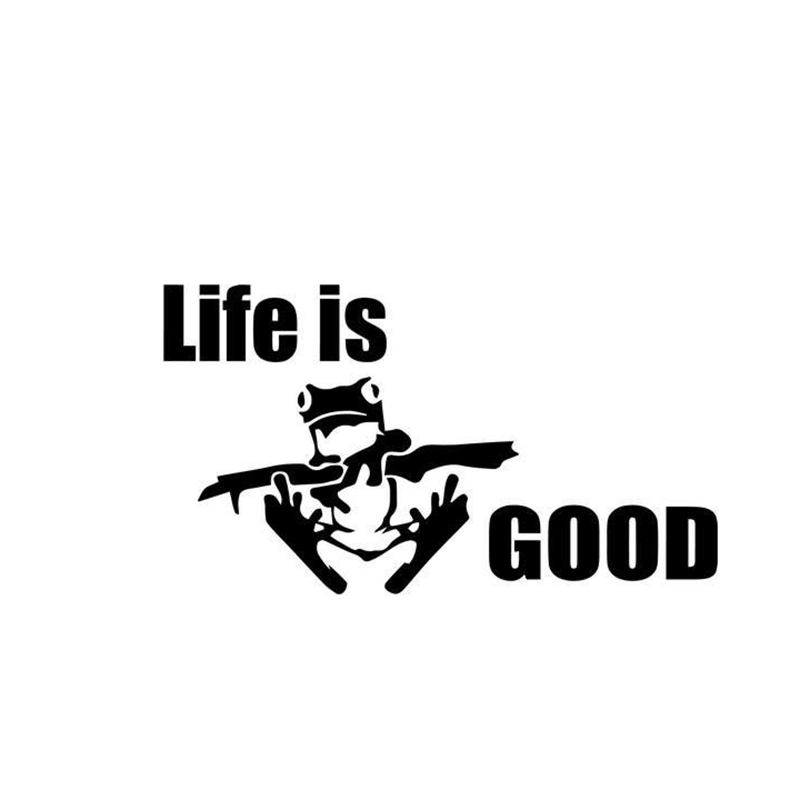 Life Is Good Home Decor Car Truck Window Decal Sticker