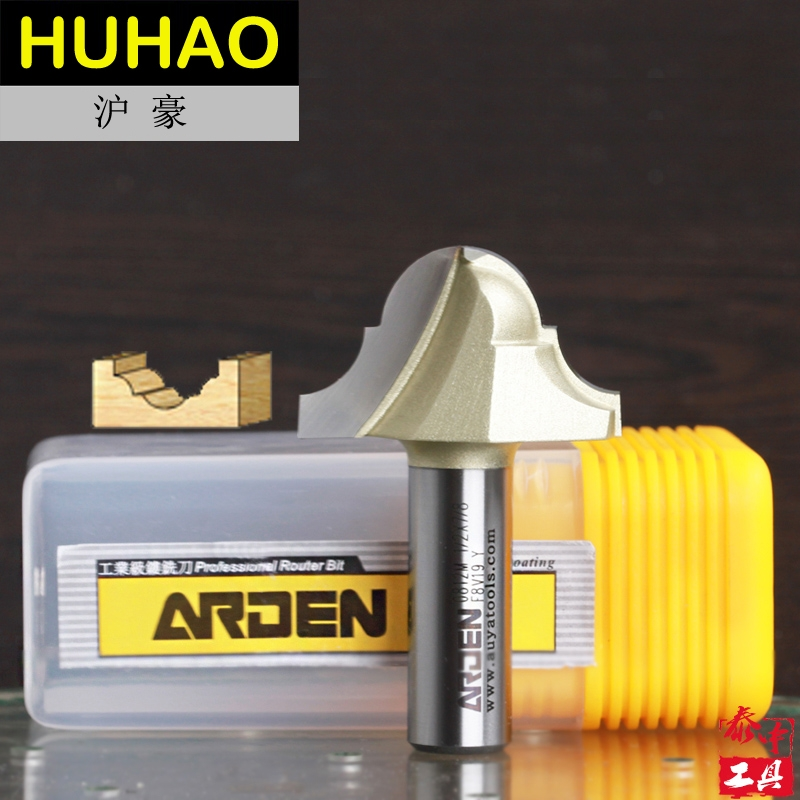 embouts routeur Woodworking Tools Double Roman Ogee Groove Table Bit Arden Router Bits - 1/4*1/2 - 1/2 Shank - Arden A0812434