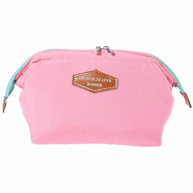 2017 Portable Cute Multifunction Beauty Travel Cosmetic Bag Makeup Case Pouch 8OAB Cosmetic Bags