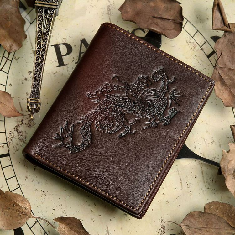 Top Quality genuine leather men s wallet Famous Brand design cowhide vintage male purse removable driver