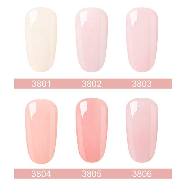 Elite99 Zwei-schritt Nail art Design Maniküre 6 Farbe 10ML Tränken Weg Von Emaille Gel Polish UV Gel Nagel polnischen Lack Lack