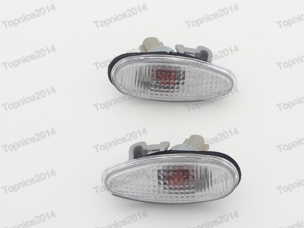 High Quality 2pcs Car Side Turn Signal Front Fender Light Side Lamp For Mitsubishi Outlander 2003-2006 ручка cross ручка роллер at0125 3