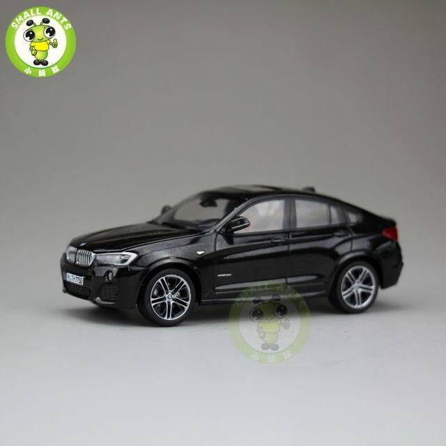 1:43 Diecast Modelo SUV Coche X4 sin caja de papel Negro