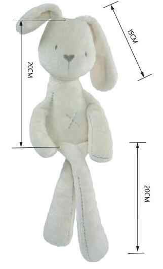 Molle del bambino Brinquedos Peluche Coniglietto Del Coniglio e Orso Sacco A Pelo Compagno di Pupazzi e peluches, animali Giocattoli