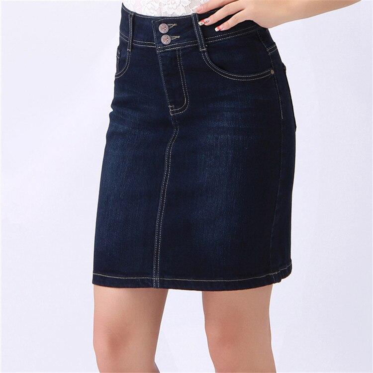 Online Get Cheap Denim Knee Length Skirt -Aliexpress.com | Alibaba ...