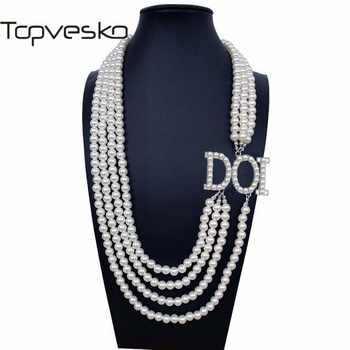 Shrine & Mason Products T30 Daughters of Isis DOI Daughter D.O.I. OES Sister Multilayer Statement  Pearl  Necklace Jewelry - DISCOUNT ITEM  0% OFF All Category