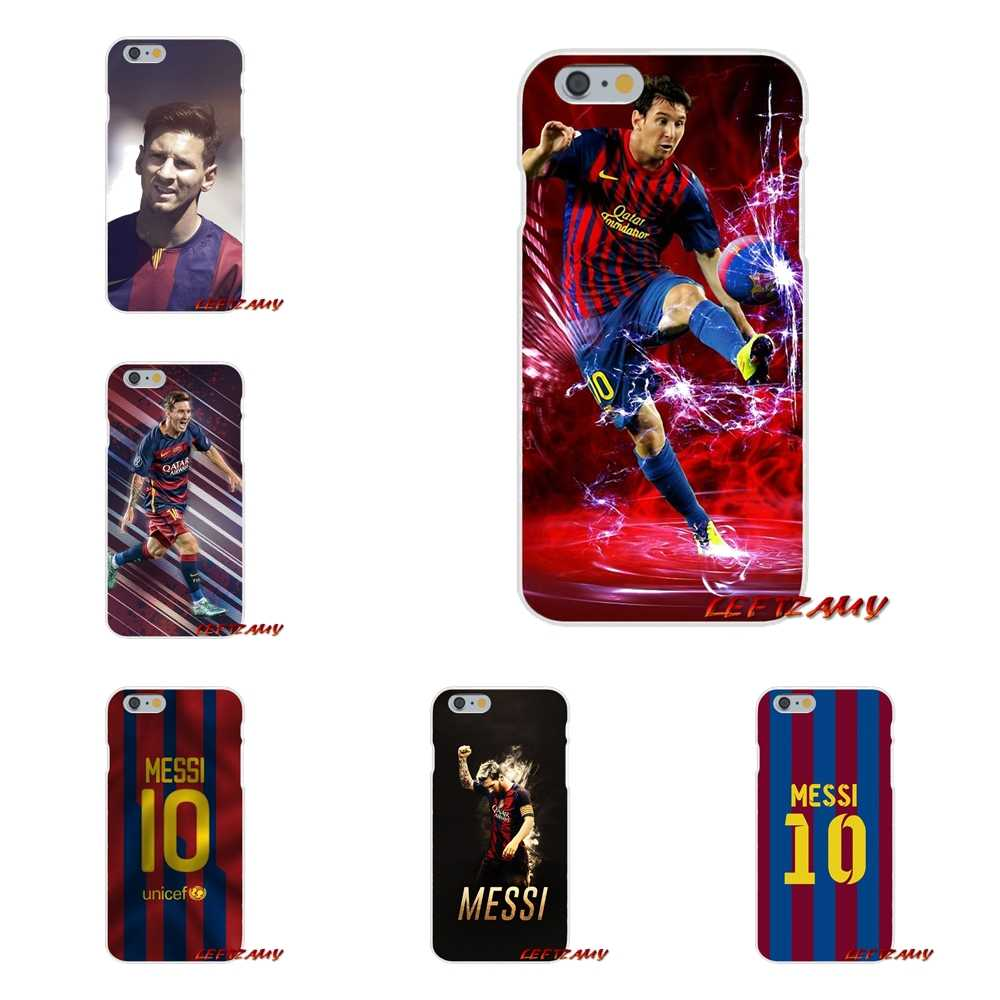 For Apple iPhone X XR XS MAX 4 4S 5 5S 5C SE 6 6S 7 8 Plus ipod touch 5 6 Leo Messi Accessories Phone Cases Covers