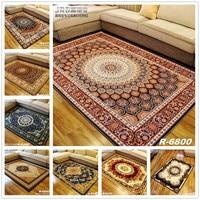 FAMIFUN 2017 New European Modern Household Carpets Sitting Room Bedroom Tea Table Rugs Luxury Simple Rectangular