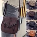 2017 High quality Brand Vintage Women Messenger Bags Leather Cover Women Shoulder Messenger Bags Handbags Bolsa Feminina