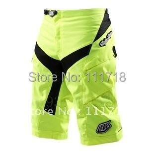 High Quality!!TLD Moto Shorts Cycling Cycle MTB BMX DOWNHILL Shorts Motorcycle Motorcross Short/TLD Bike Pant wear Lime 30-38