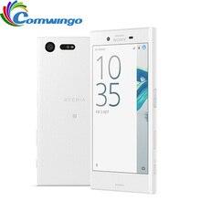 Хорошее Оригинальный sony Xperia X Compact F5321 3 ГБ Оперативная память 32 ГБ Встроенная память 4,6 «Inch одной сим-Android Восьмиядерный 23MP Камера мобильного телефона