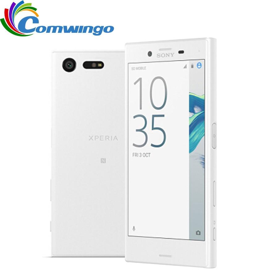 """Sony Xperia X Version japonaise compacte 3GB RAM 32GB ROM 4.6 """"pouces simple SIM Android Octa Core 23MP téléphone caméra"""