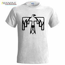 цены на THUNDERBIRD NATIVE AMERICAN SYMBOL MENS T SHIRT PRESENT CHRISTMAS INDIAN EAGLE Summer Short Sleeves Cotton T-Shirt Black Style  в интернет-магазинах