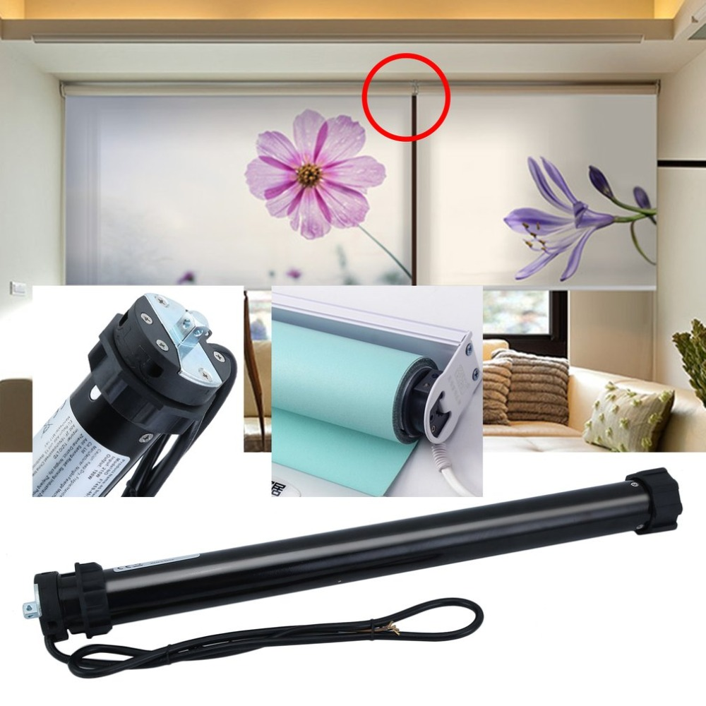 60mm Tubular Motorized Roller Shutters Motor 20N/M Electric Roller Blinds Motor Universal Home Shades Accessories portable motorized roller belt conveyor baggage checkin counters at airport security inspection machine drum motor drive roller