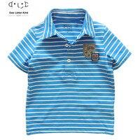 Baby Boys Brand T Shirt Kids Polo Shirts Children T Shirts Stripe Short Sleeve Clothing 3