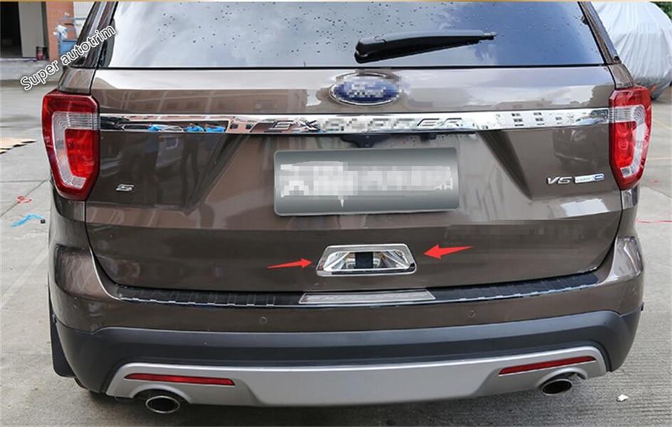 Lapetus Аксесуари для Ford Explorer 2016 2017 2018 ABS - Аксесуари для інтер'єру автомобілів - фото 6