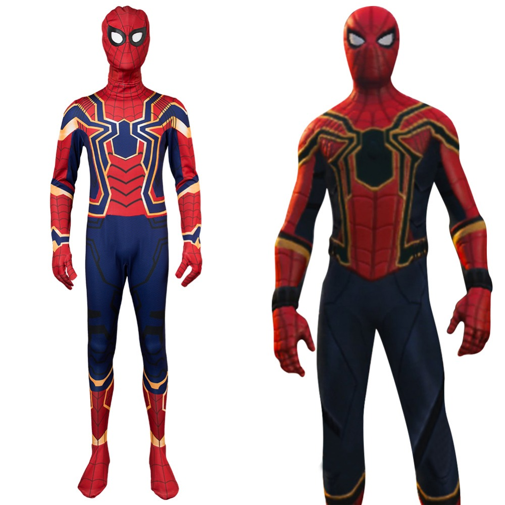 Iron Spiderman Costume Spider-Man SpiderMan Homecoming Cosplay Peter Parker Tom Holland Cosplay Costume Halloween Suit Sets