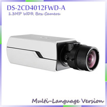 fast free shipping 2014 New 1.3MP WDR Smart Face Detection & Two Way Talk Smart IPC  DS-2CD4012FWD-A