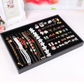 Jewelry display tray accessories receive a case rings holder box necklace pendant display plate earrings jewelry exhibition
