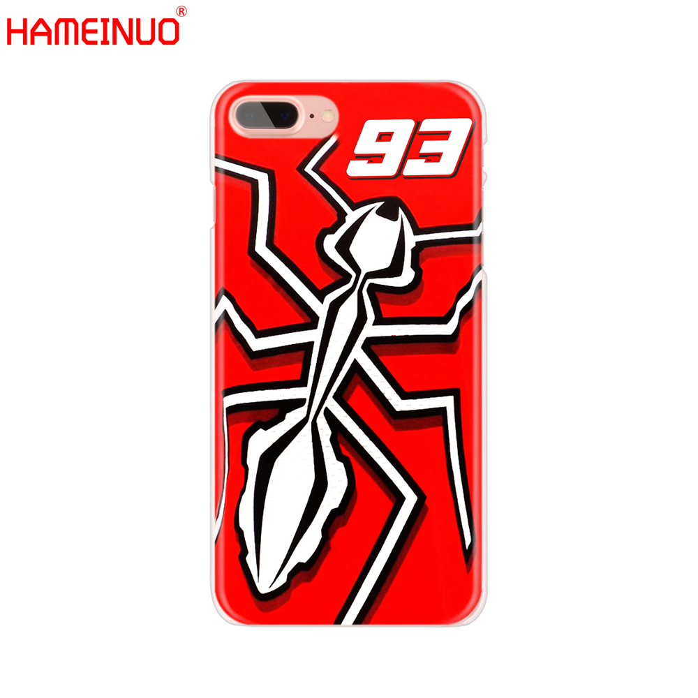 Marc Marquez Moto Gp 93 Cell Phone Cover Iphone X 8 7 6 4 4S 5 5S