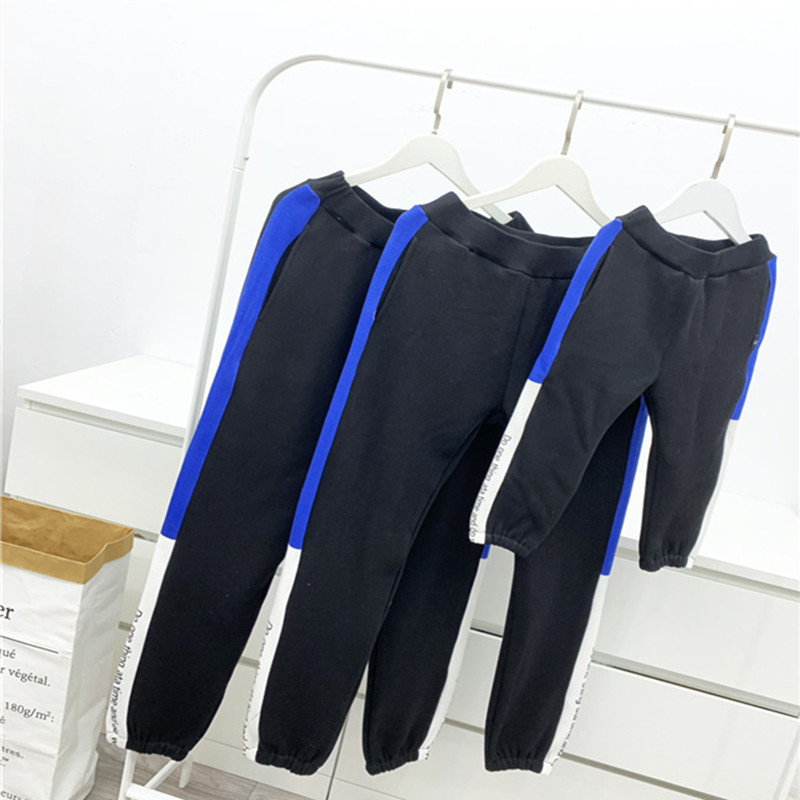 2019 New Family Matching Pants Mama Women Baby Matching Clothes Winter Add Fur Trousers Thickening Mother and Daughter Clothes 1