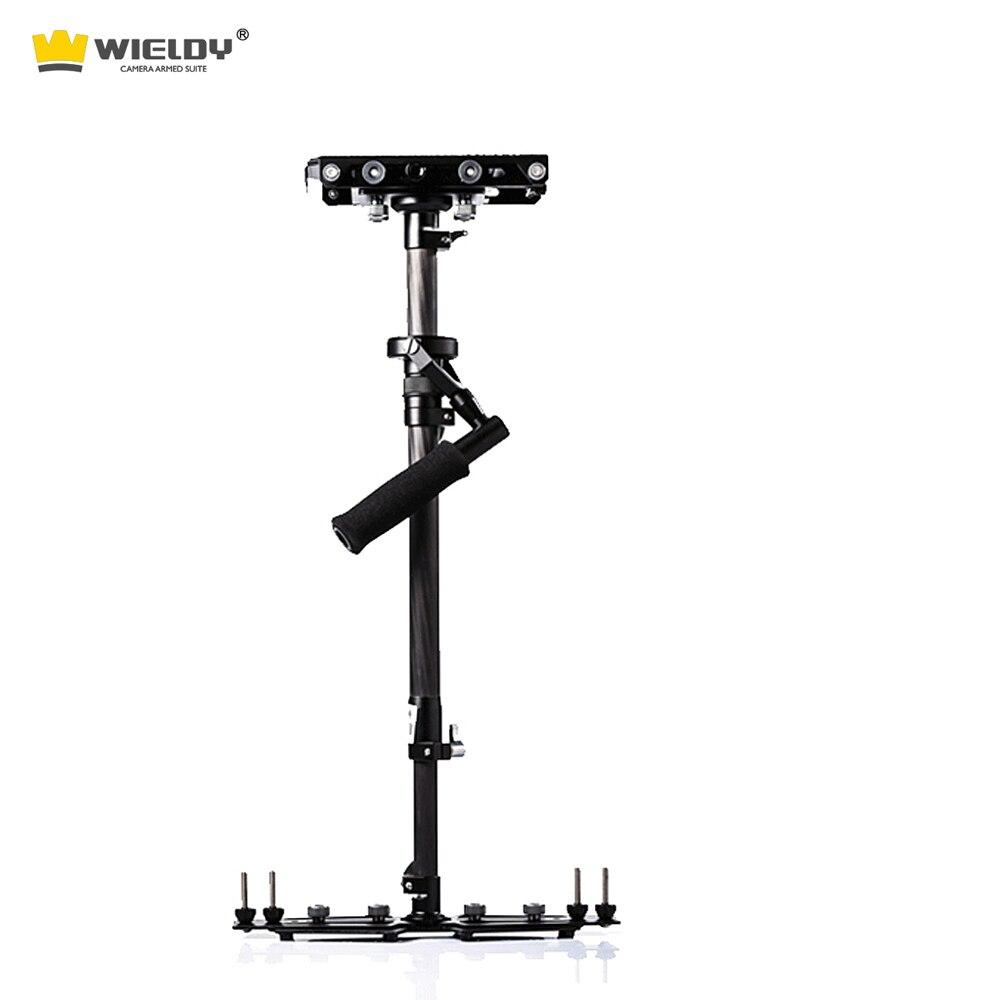 Wieldy HD 2000 carbon fiber handheld camera stabilizer 1-5kg video steadycam DSLR steadicam S60 camcorder Glidecam Tiffen