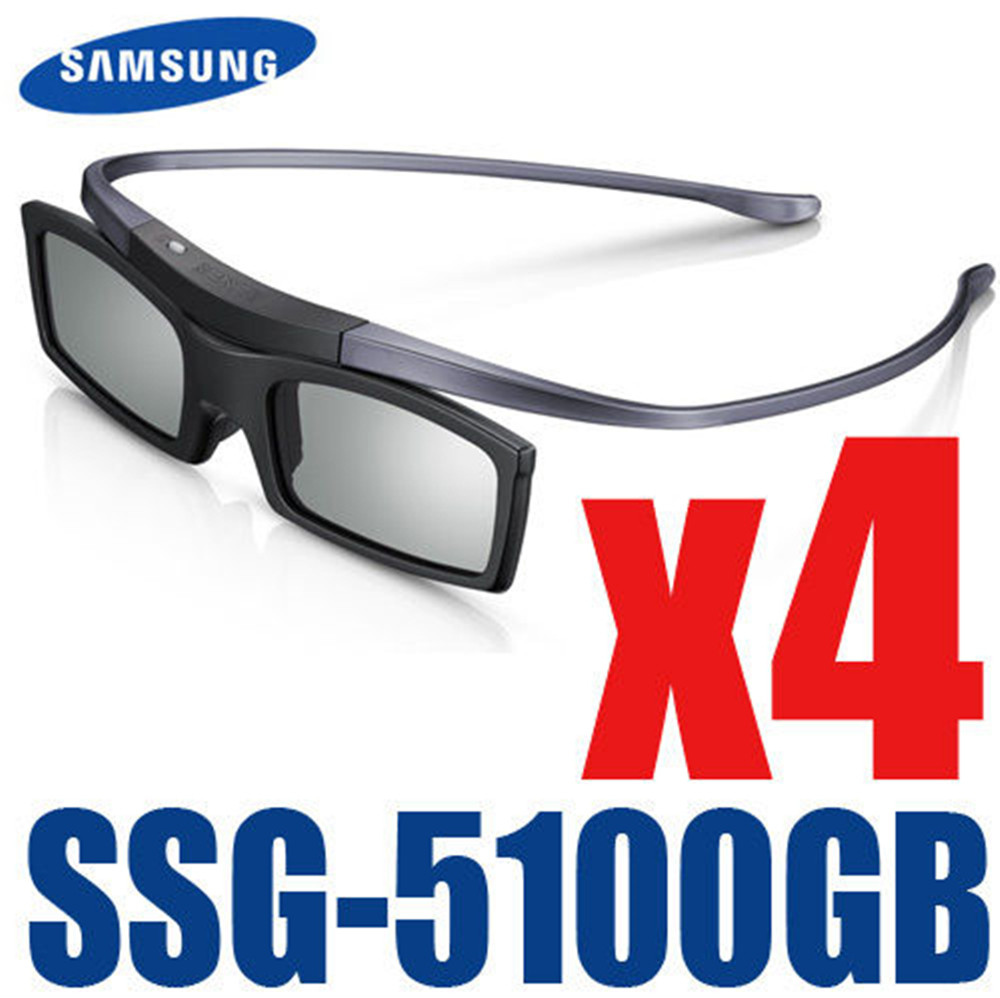 4pcs lots Official Original ssg 5100GB SSG 5150GB 3D Bluetooth Active Eyewear Glasses for all Samsung