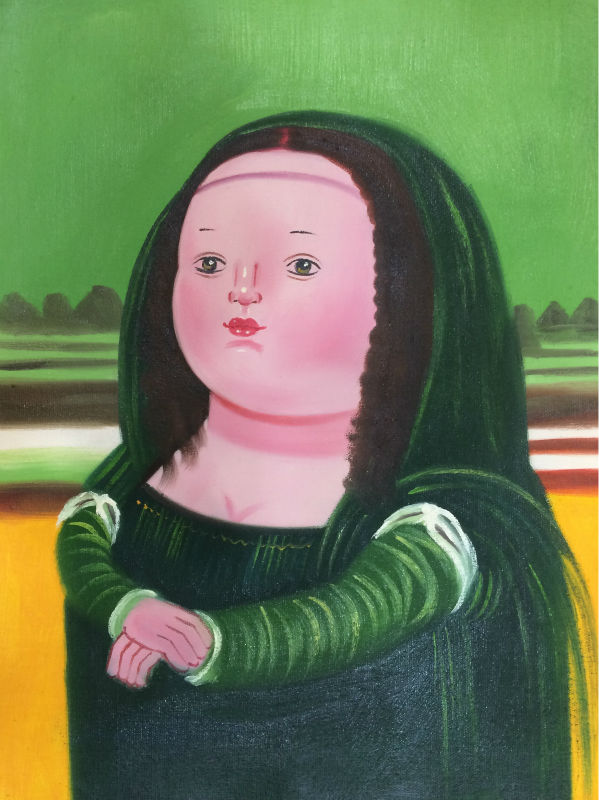 Popular Cartoon Mona Lisa-Buy Cheap Cartoon Mona Lisa lots