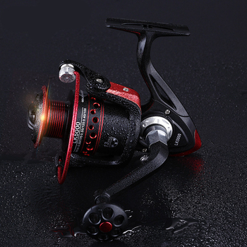 100% Best Carp Fishing Reels Fishing Reels cb5feb1b7314637725a2e7: black gold|black red