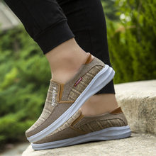 Dad shoes new soft bottom breathable casual shoes old Beijing men's shoes low shoes(China)