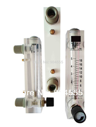 Large flow Panel rotameter,liquid/water flow meter Max.150LPM water flow