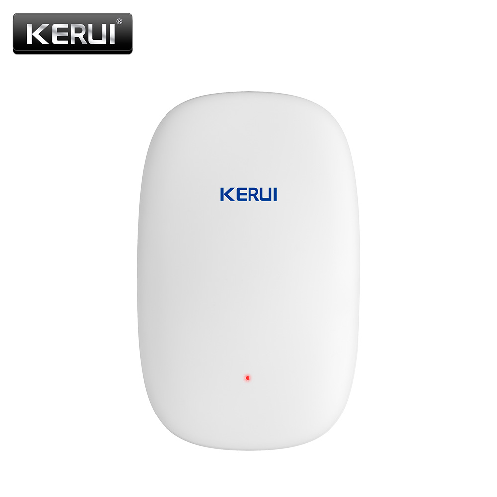 2017 NEW KERUI Z31 Wireless Vibration Detector Shock Sensor For Home villa Alarm System built-in Antenna + Beautiful appearance wireless vibration break breakage glass sensor detector 433mhz for alarm system