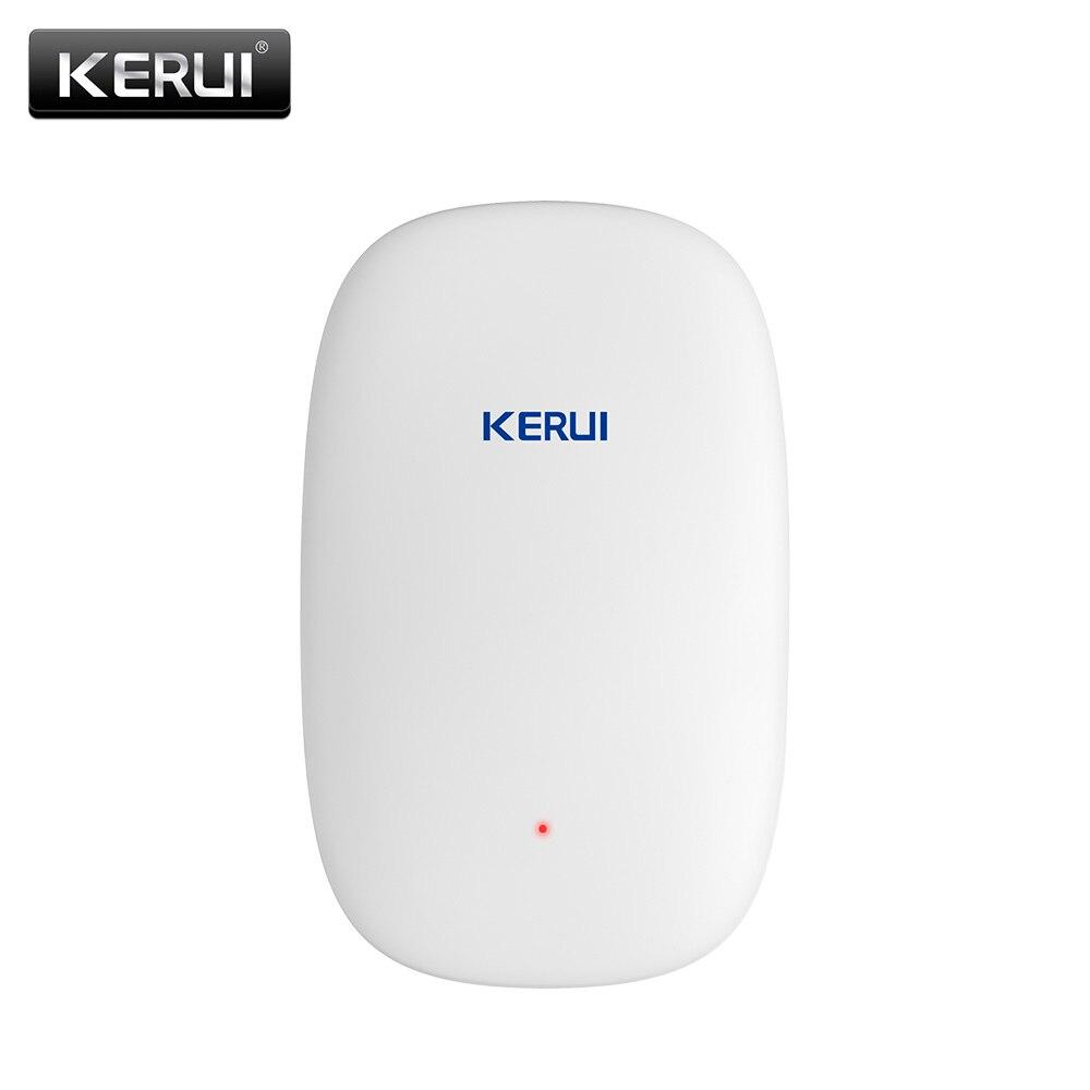 2017 NEW KERUI Z31 Wireless Vibration Detector Shock Sensor For Home villa Alarm System built-in Antenna + Beautiful appearance